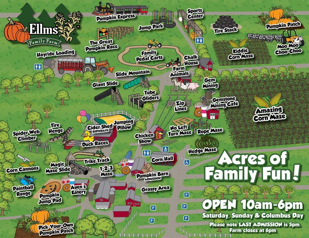 Ellms Family Farm Map