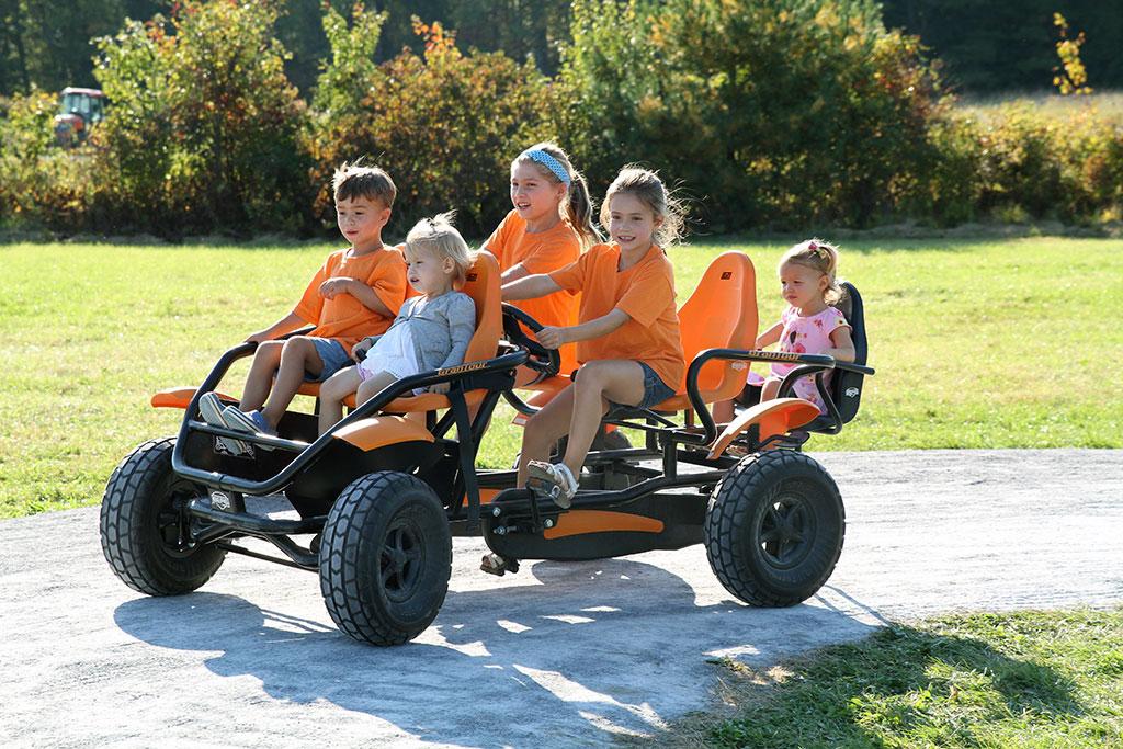 Enjoy This Fun Fall Activity At Ellms: Pedal Carts
