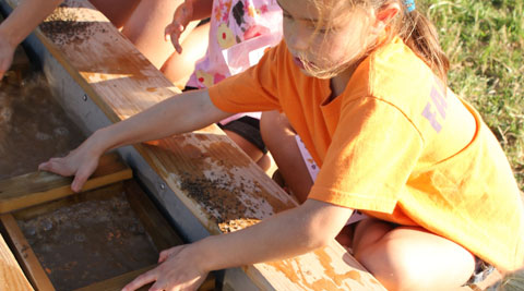 Gemstone Mining at Ellms Family Farm