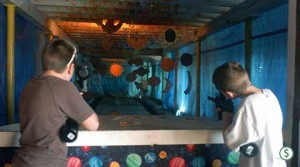 Paintball Range near Saratoga at Ellms Farm