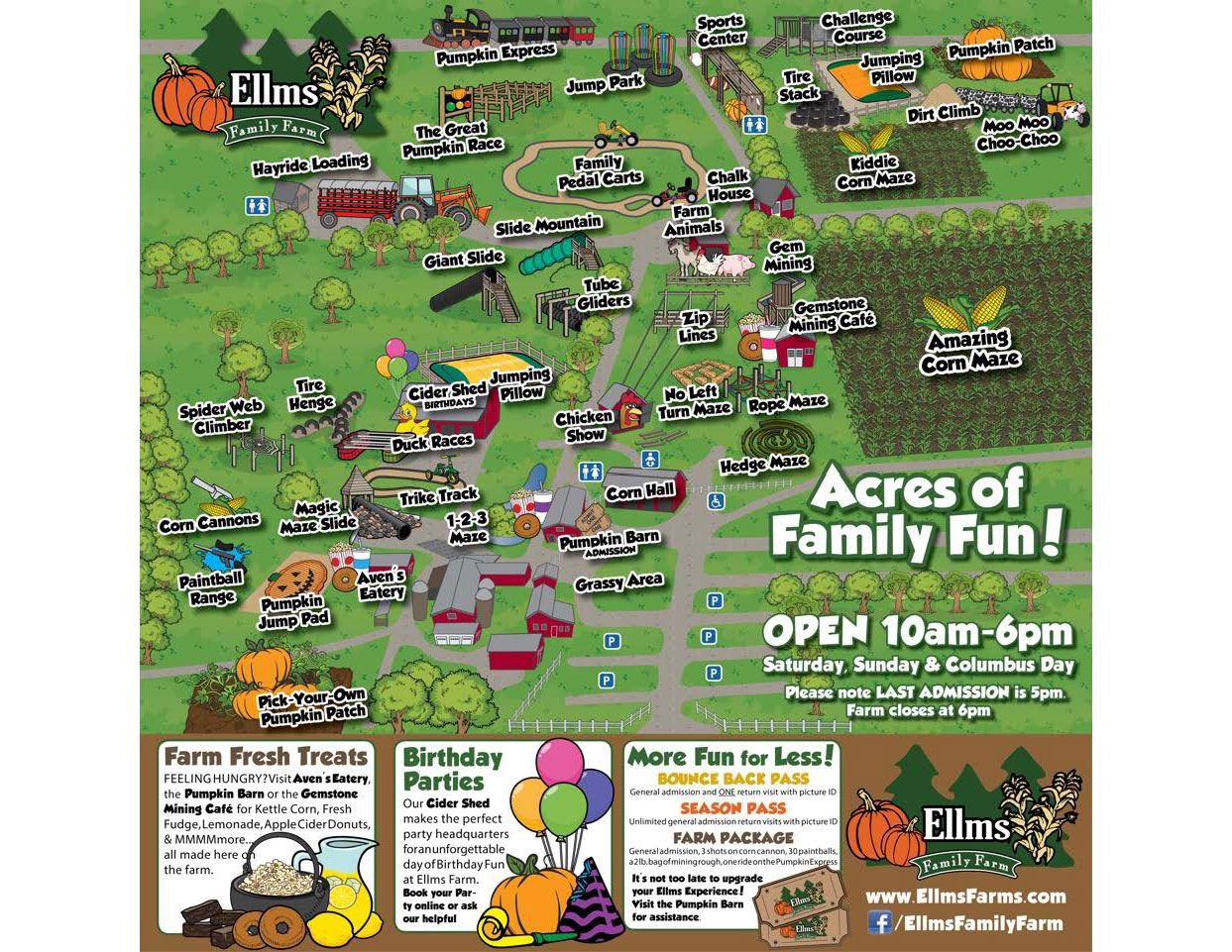 Ellms Farm Map 2017