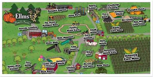 See all the activities that<br />Ellms Farm has to offer