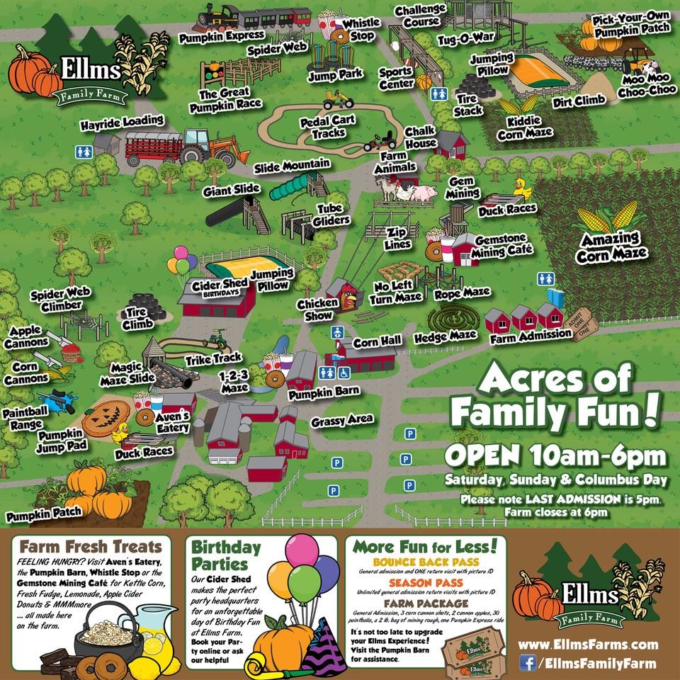 2017 Ellms Farm Map