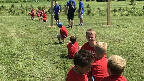 Kids Group enjoying a Tug-of-War game