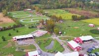 Aerial Of Ellm's Family Farm