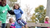 Zipline at Ellm's Family Farm