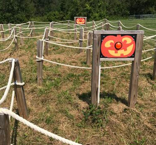 Pumkin Race Course - Fall Activity at Ellms Farm in Saratoga