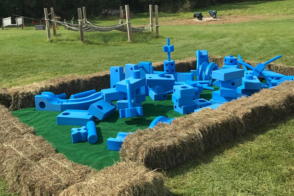 Play Foam Blue Blocks