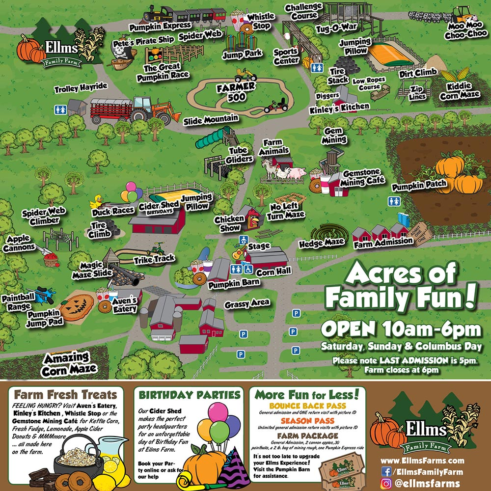 Ellms Farms Map