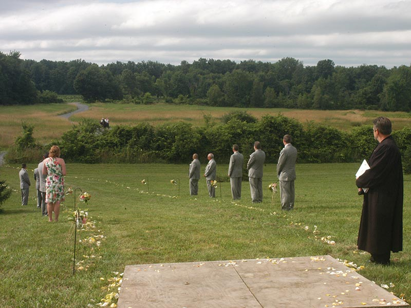 Wedding at Ellms Farm in Saratoga